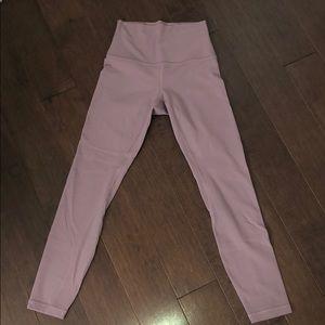 """Pink Taupe Align 25"""" Lululemon Leggings"""
